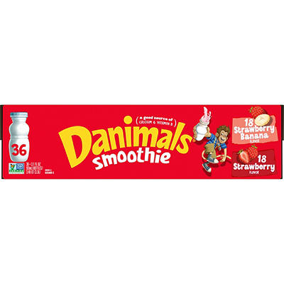 Dannon Danimals Smoothie, 36 ct./3.1 oz.