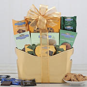 Ghiradelli Holiday Gift Basket - Gold