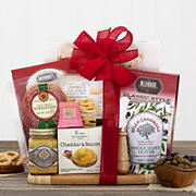 Houdini Cheese and Deli Cutting Board Gift Basket
