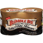 Bumble Bee Prime Fillet Solid White Albacore Tuna in Water, 6 pk./5 oz.