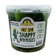 Farm Ridge Foods Snappy Half Sour Pickles, 52 oz.