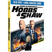 Fast & Furious Presents: Hobbs & Shaw (Blu-ray/DVD)