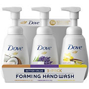 Dove Foaming Hand Wash Variety Pack, 3 pk.