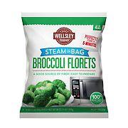 Wellsley Farms Broccoli Florets, 4 ct.