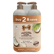 Suave Professionals for Natural Hair Shampoo and Conditioner Pack, 2 ct.