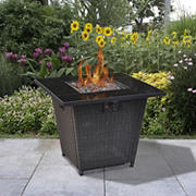 "Bond 30"" Wicker Gas Fire Pit"