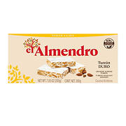 El Almendro Crunchy Almond Turron, 7 oz.