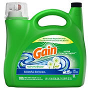 Gain Blissful Breeze Ultra Concentrated Liquid Laundry Detergent, 200 fl. Oz.