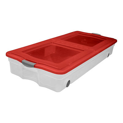 Organize-It Wheeled Underbed Box