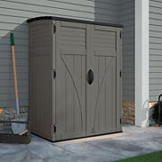 Suncast 54-Cu.-Ft. Vertical Shed - Gray