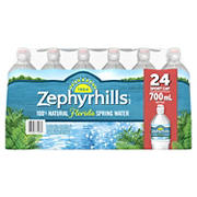 Zephyrhills 100% Natural Spring Water with Sports Cap, 24 pk./23.7 oz.