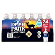 Deer Park 100% Natural Spring Water with Sports Cap, 24 pk./23.7 oz.