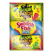 Sour Patch Kids & Swedish Fish Variety Pack, 24 ct.