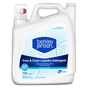 Berkley Jensen Free and Clear Liquid Laundry Detergent, 140 fl. Oz.