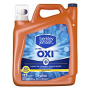 Berkley Jensen Ultra Oxi Liquid Laundry Detergent, 190 oz.