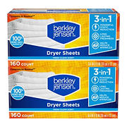 Berkley Jensen Soft and Fresh Dryer Sheets, 320 ct.