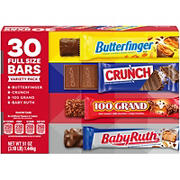 Butterfinger & Co. Full Sized Chocolate Bars Variety Pack, 30 ct.