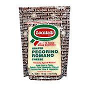 Locatelli Grated Pecorino Romano, 16 oz.