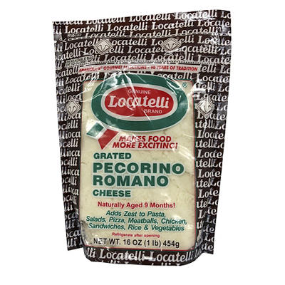 Locatelli Grated Pecorino Romano, 16 oz.