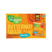 From The Ground Up Butternut Squash Sea Salt Crackers, 20 ct.