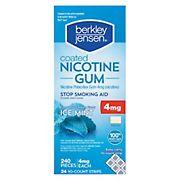 Berkley Jensen Coated Nicotine Polacrilex Gum, 240 ct.