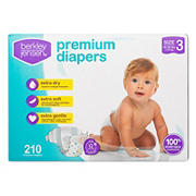 Berkley Jensen Premium Diapers, Size 3, 210 ct.