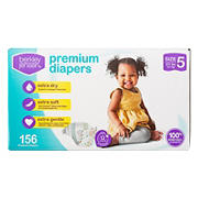 Berkley Jensen Premium Diapers, Size 5, 156 ct.