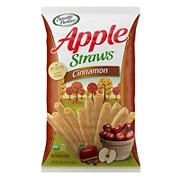 Sensible Portions Cinnamon Apple Straws, 20 oz.