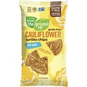 Real Food From the Ground Up Cauliflower Sea Salt Tortilla Chips, 10 oz.