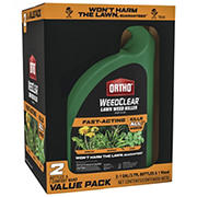 Ortho WeedClear Lawn Fast Acting Weed Killer Wand & Refill Combo Pack, 2 pk./1-gal.