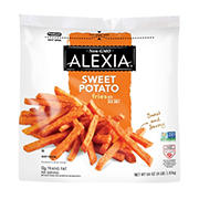 Alexia All Natural Sweet Potato Fries with Sea Salt, 64 oz.