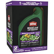 Ortho WeedClear Lawn Results In Hours Weed Killer Wand & Refill Combo Pack, 2 pk./1-gal.