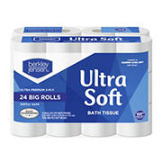 Berkley Jensen Ultra Soft Bath Tissue, 24 ct.