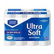Berkley Jensen Ultra Soft Bath Tissue, 24 ct.