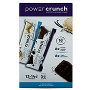Power Crunch Original Triple Chocolate and French Vanilla Energy Bars, 16 ct.