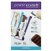 Power Crunch Original Triple Chocolate and French Vanilla Energy Bars, 16 ct.