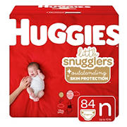 Huggies Little Snugglers Baby Diapers, Size 1, 96 ct.