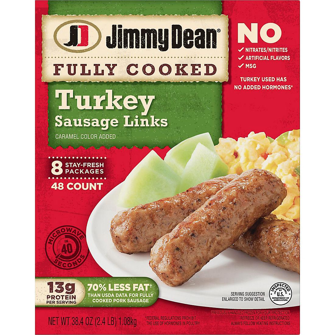 Jimmy Dean Turkey Sausage Links, 48 ct