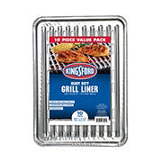 Kingsford Heavy Duty Aluminum Grill Liners, 10 Count