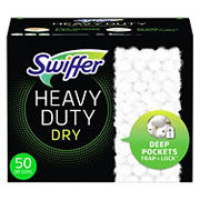 Swiffer Sweeper Heavy Duty Dry Sweeping Cloths, 50 ct.