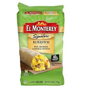 El Monterey Signature Breakfast Burrito, 14 ct.