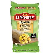 El Monterey Signature Breakfast Burrito, 14 ct.