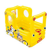 Bestway Fisher Price Lil' Learner School Bus Inflatable Ball Pit