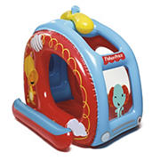 Bestway Fisher Price Helicopter Inflatable Ball Pit