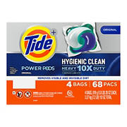 Tide Power Pods Pacs Laundry Detergent, 68 ct.