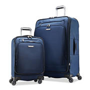 Samsonite Precision 2-Pc. Softside Spinner Luggage Set - Blue Dress