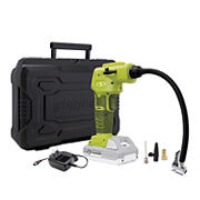 Sun Joe 24V iON+ Cordless Portable Air Compressor Kit with 2.0-Ah Battery, Charger, Storage Bag, and Nozzle Adapters