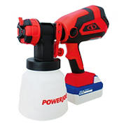 Sun Joe Cordless HVLP Handheld Paint Sprayer Kit with 4.0-Ah Battery, Charger, and Accessories