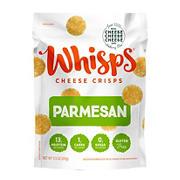 Whisps Parmesan Cheese Crisps, 9.5 oz.