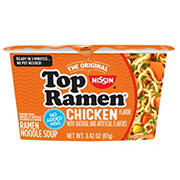 Nissin Chicken Top Ramen Bowl, 18 ct.